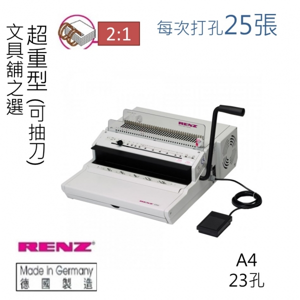 EOL) Renz ECO E 2:1 High Speed Electric Wire Binder - Heavy duty ...